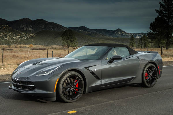 El Corvette Stingray de 2014